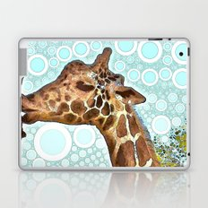 Giraffe Kiss Laptop & iPad Skin