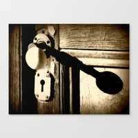 Doorknob Canvas Print