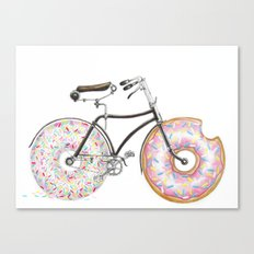 Bike Me Canvas Print