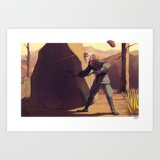 MY HAT! Art Print