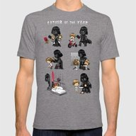 Father Of The Year Mens Fitted Tee Tri-Grey SMALL