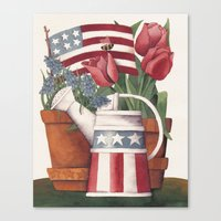 American Summer Canvas Print