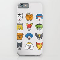 iPhone & iPod Case featuring Super Dogs by Leo Canham