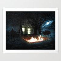 The Watchers Art Print