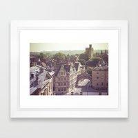 Oxford England Framed Art Print