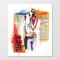 Sense VI Canvas Print