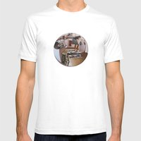 6:39 PM Mens Fitted Tee White SMALL