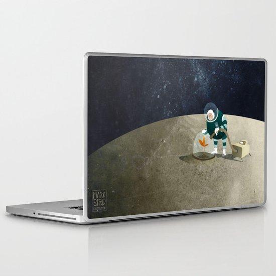 The Space Gardener Laptop & iPad Skin