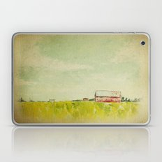Oil painting house Laptop & iPad Skin