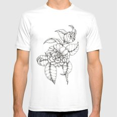Bold & Fine Mens Fitted Tee SMALL White