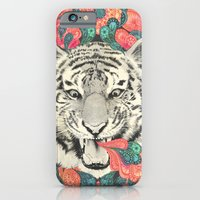 iPhone Cases featuring bengal mandala by Laura Graves