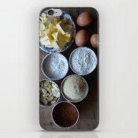 Cake ingredients iPhone & iPod Skin