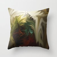 Holy Vision Throw Pillow