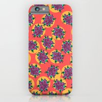 iPhone & iPod Case featuring GermFlower Wallpaper (Fever) by Rat McDirtmouth