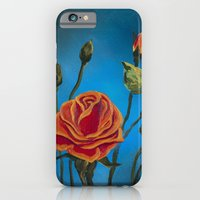iPhone & iPod Case featuring Tahitian Sunset Tea Rose by Charlotte Curtis