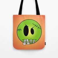 Scary Little Frankinstein Tote Bag