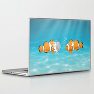 Clown Fish Laptop & iPad Skin