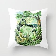 Mother's Instinct Throw Pillow