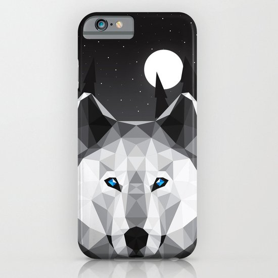 The Tundra Wolf iPhone & iPod Case