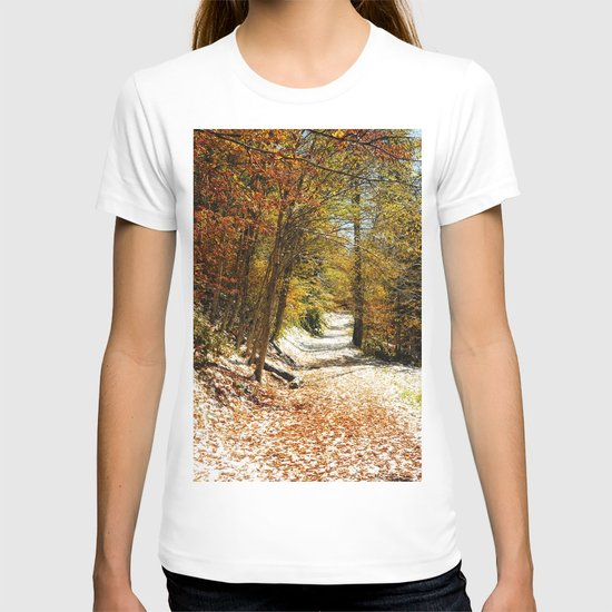 The First Snow T-shirt