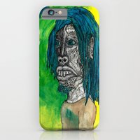 iPhone & iPod Case featuring Self Portrait by Erik V. Moule (In Detail)