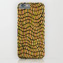 Wavy Yellow iPhone & iPod Case