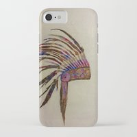 native american iPhone & iPod Cases featuring Native  by emily.bee