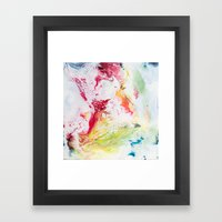 We Need More Rainbows Framed Art Print