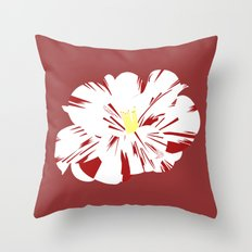 Camellia Throw Pillow