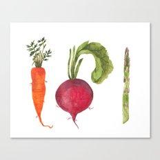 Veggie 1 Canvas Print