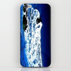 Black Sand Beach iPhone & iPod Skin
