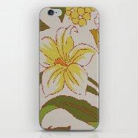 Flower Knit iPhone & iPod Skin