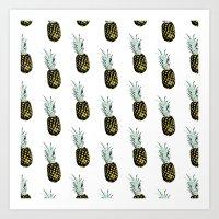 Take my pineapple! Pattern :) Art Print