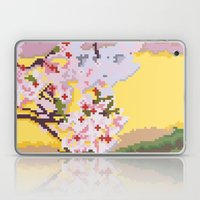 Sakura pixel Laptop & iPad Skin