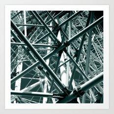 ferris wheel 05 Art Print