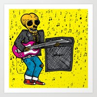 Rock 'N' Roll Art Print