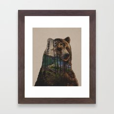 Bear Lake Framed Art Print