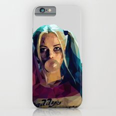 Daddy's Monster - Harley Quinn Low Poly Art iPhone 6 Slim Case