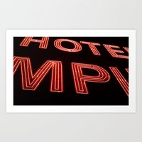 Hotel Empire, New York City Art Print