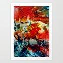FireSky Art Print