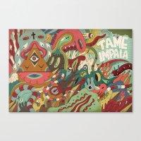 Tame Impala Canvas Print