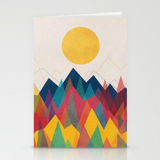 Uphill Battle Stationery Card