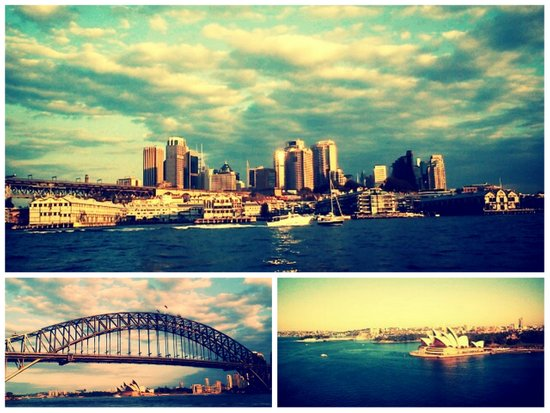 Postcards from Sydney Art Print