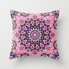 FEZ Moroccan Tiles {4H} Throw Pillow