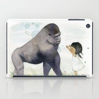 Hug Me , Mr. Gorilla iPad Case