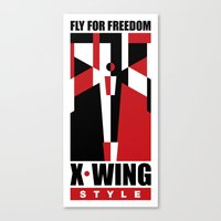 X-Wing style Canvas Print