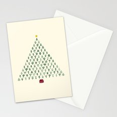 Christmas Treeangle Stationery Cards