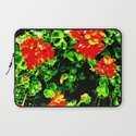 Red Flowers (Edited)  Laptop Sleeve