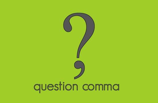 Question Comma Art Print