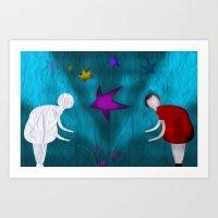 Sombra Art Print